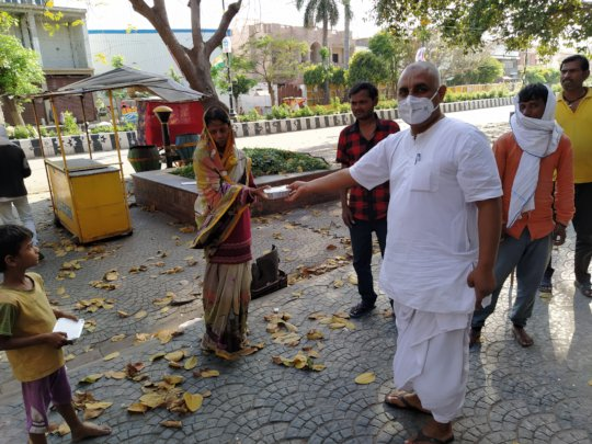 Food Packets Distribution to locality