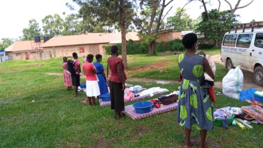 SGBV Survivors Receiving Support Items