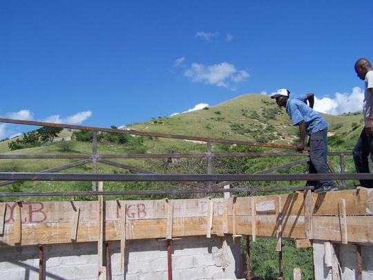 Construction Training in Haiti