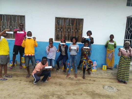 Food vouchers distribution started