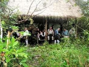 Campsite in Trapeang Thmar