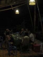 Delicious dinner at CBET