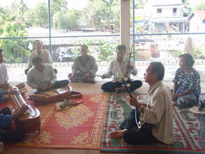 Playing Traditional Instruments