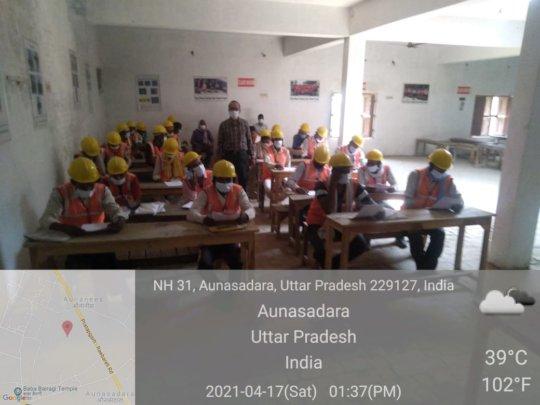 Classroom training in Uttar Pradesh