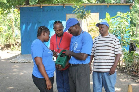 Help give Haitians access to information on aid