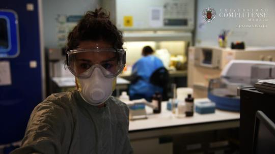 Volunteer researchers at work