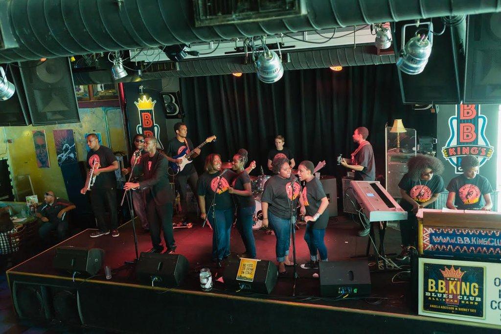 Stax Music Academy Alumni Band at B.B.King