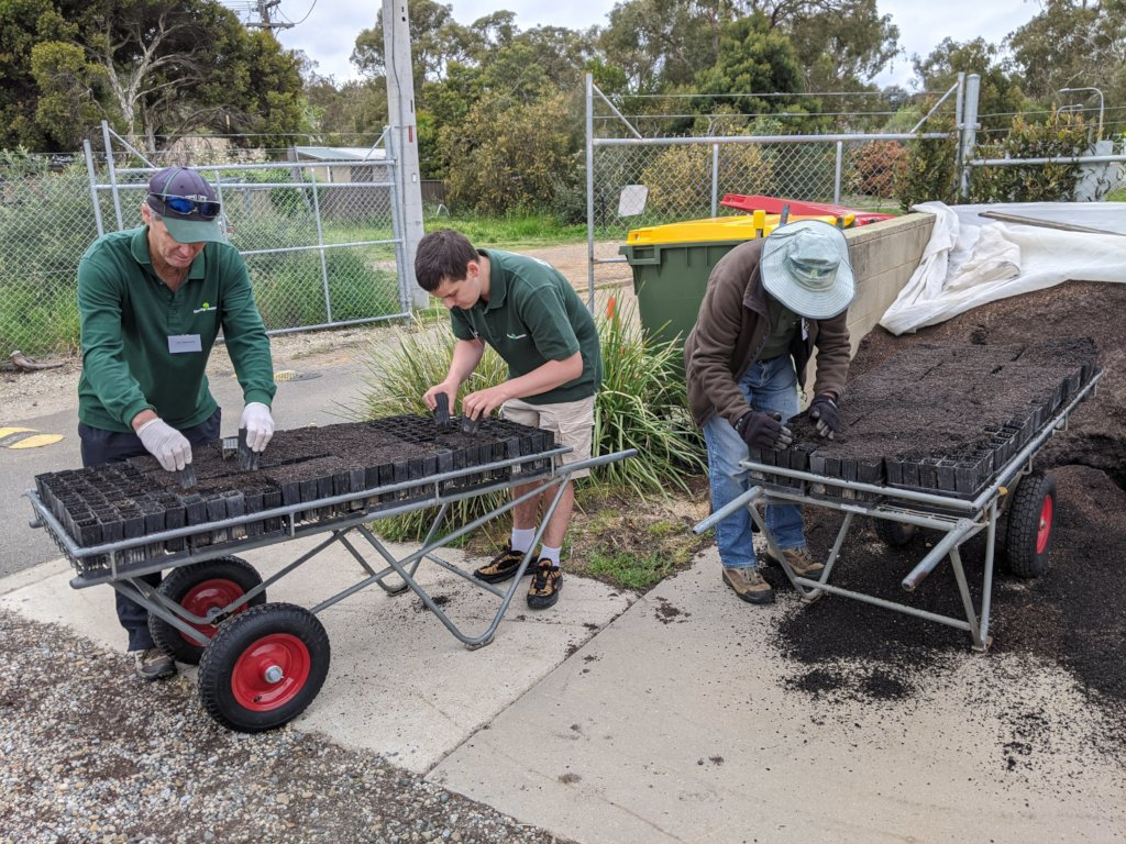 Bushfire-Recovery-Nursery-preparation
