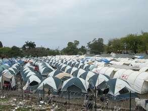 GHESKIO Center's Tent City