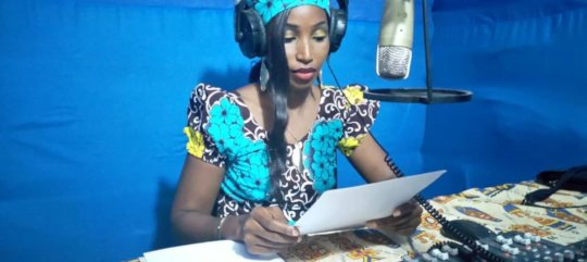 A radio journalist from Ndele, C.A.R.