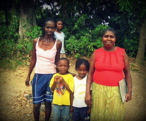 Help a Displaced Family in Haiti with Food/Basics