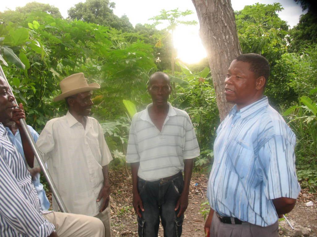 Farmers in NW Haiti