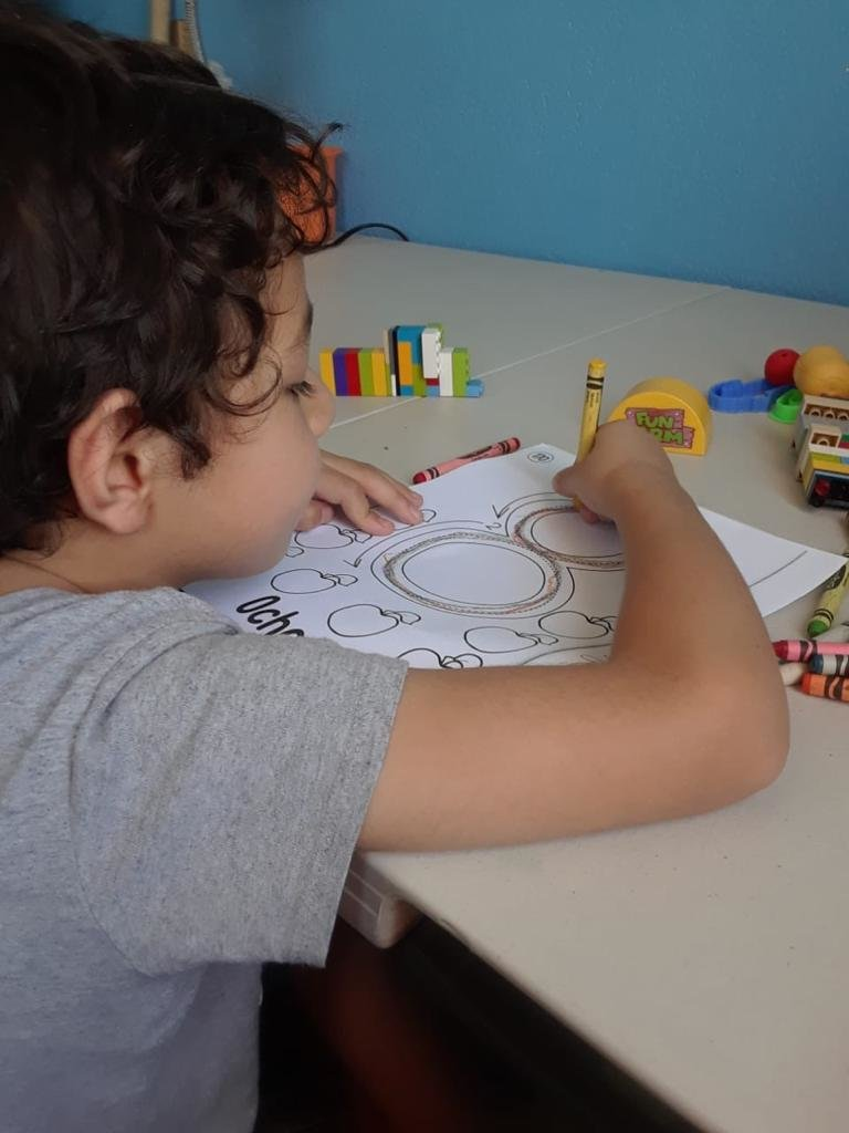 Support 28 children with autism in COVID-19 times