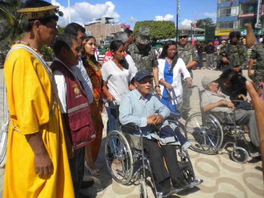 Imagine the life change with a working wheelchair