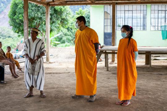 Tribal Leaders Thankful for Food Aid