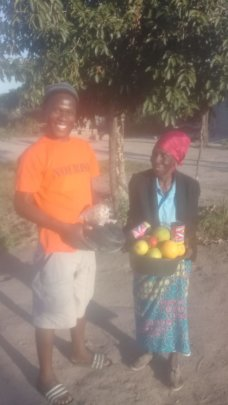 Vulnerable grannies and early get food security!
