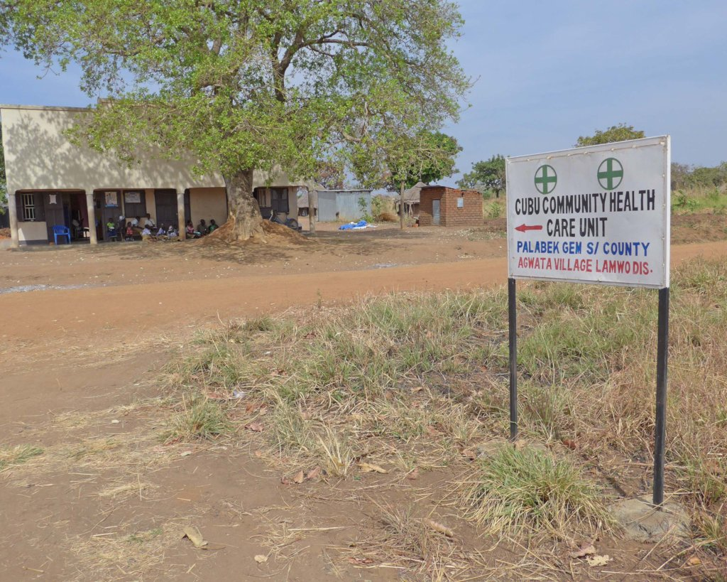 Cubu Health Care Center in Northern Uganda