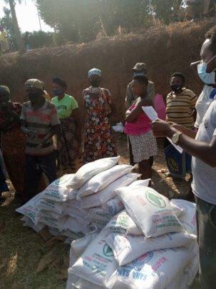 COVID-19 Emergency Food for Masoro and Cyaruzinge