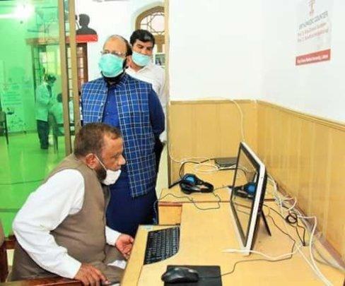 Telemedicine centre for providing information