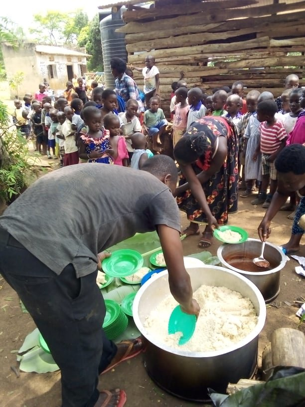 Feed 40 children during COVID-19 crisis