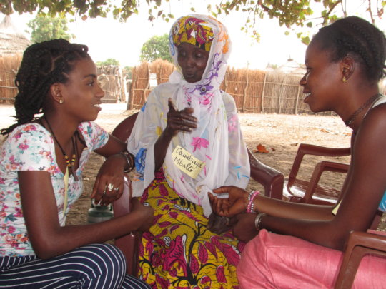 Grandmother Leaders support girls to stop FGM/C