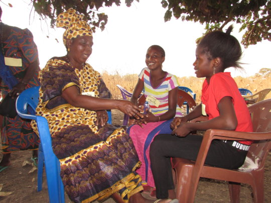 Grandmothers educate and support adolescent girls