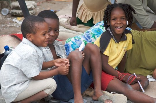 Children treated at RI's health clinic.