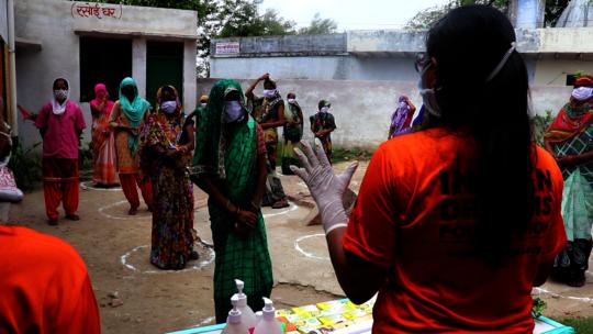 Hand wash awareness session