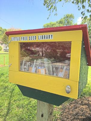 Watauga Little Free Seed Library