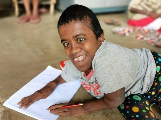 Geethani at Cotagala School