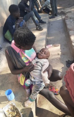 Mum and baby seek help at Kimbilio outreach centre