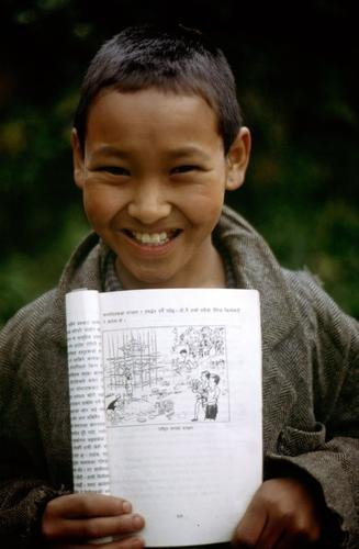 Library program for children in Cambodia