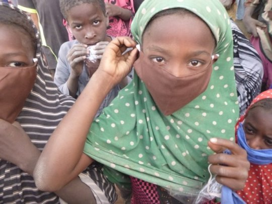 In the absence of vaccines, masks are critical