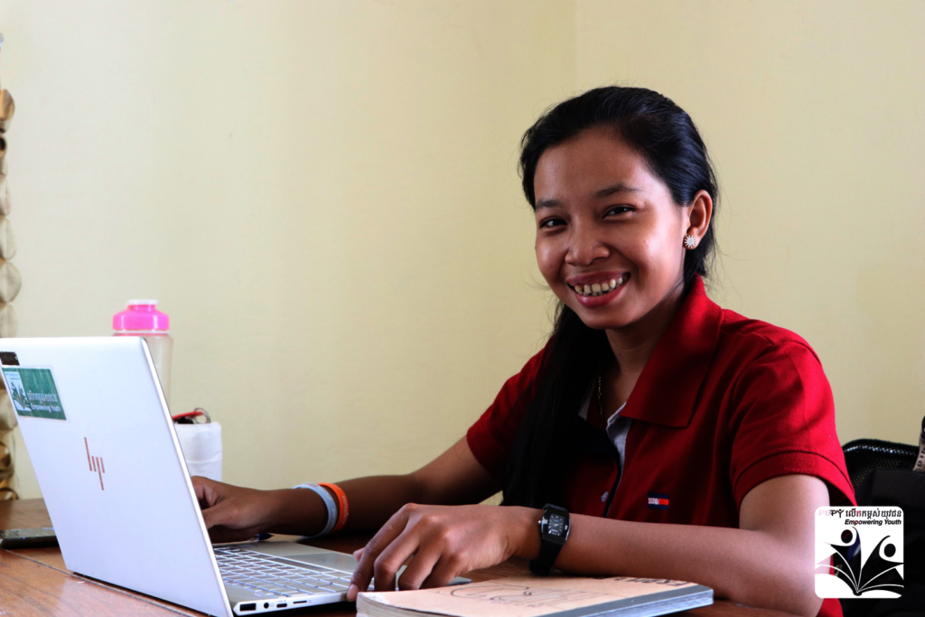 Channra, our new Scholarship Project Assistant