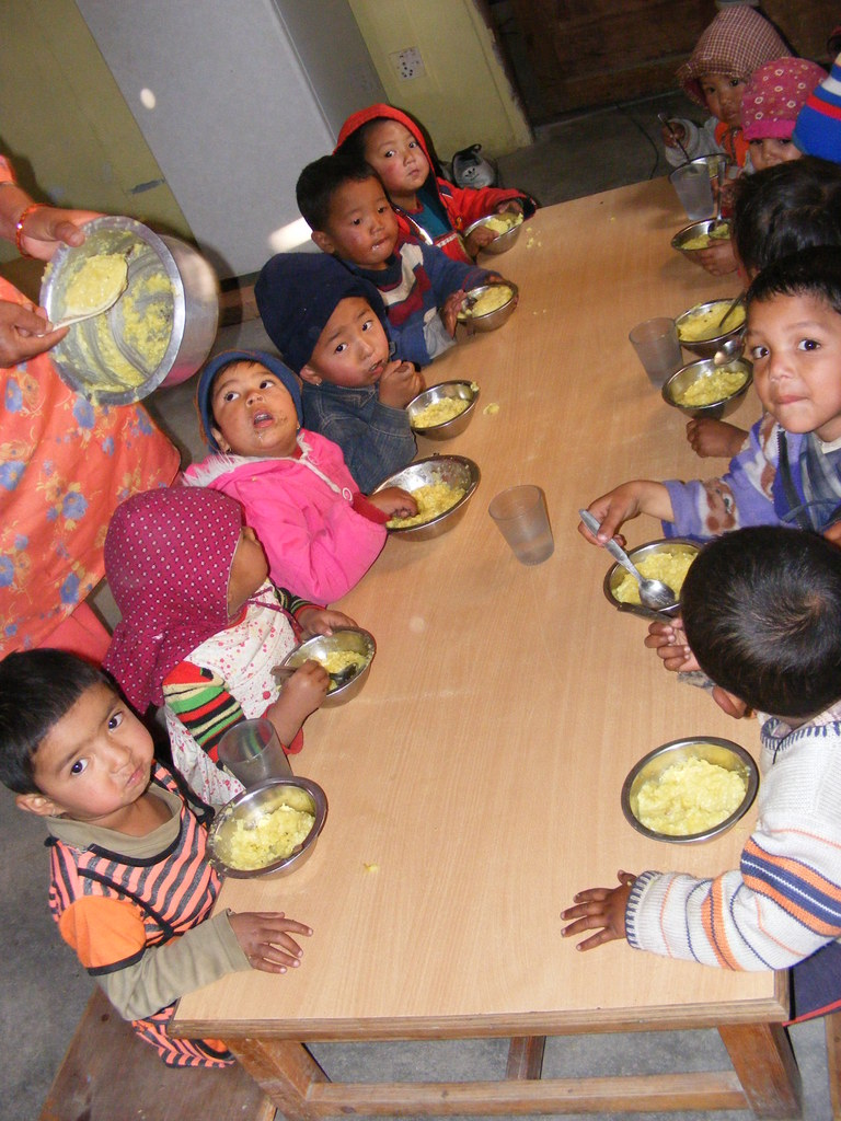 OGN provides lunch for all children in it