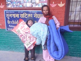 Blanket and Pillow Donation