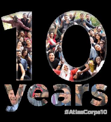 Atlas Corps celebrates 10 years!