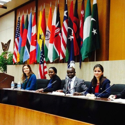 Assistant Secretary Ryan and Atlas Corps Fellows