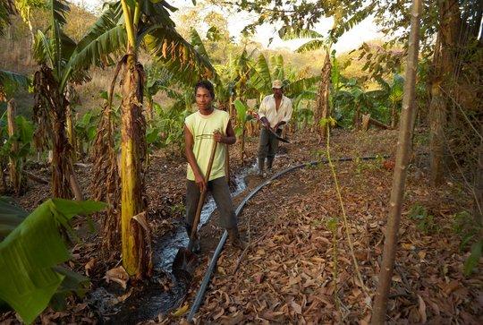 Irrigation Water Project in Honduras