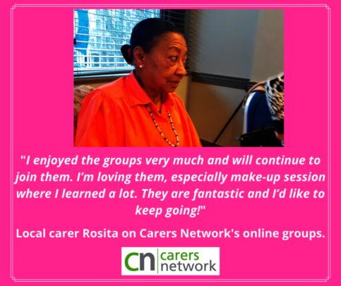 Rosita is going to keep coming to the sessions!