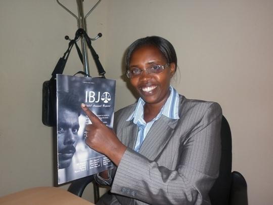 Dative Mujawamariya, IBJ Lawyer