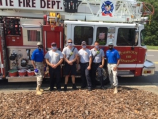 One of our missions with the fire department