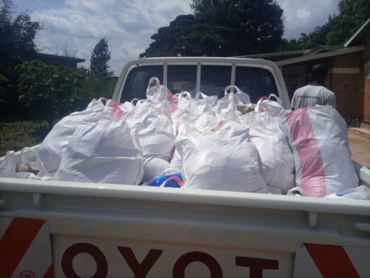 Transporting food produce and others basic items