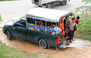 Full school truck