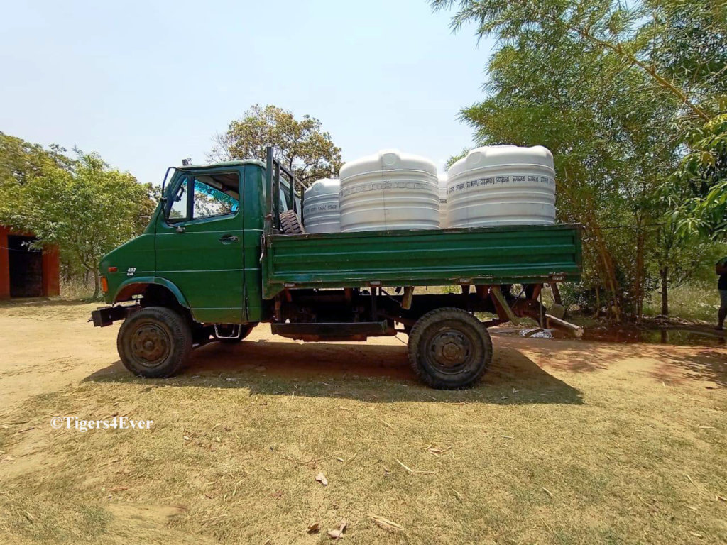 Delivery of Drinking Water Tanks
