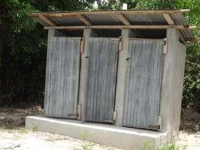 3-Stall Latrine