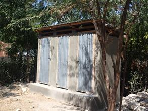 AJSDC's latrines