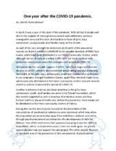 April report (PDF)