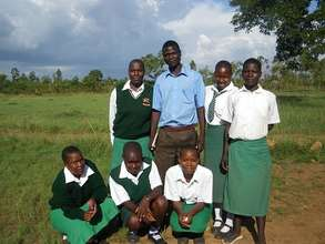 Students of the Ondati School for Girls