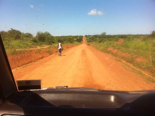 On the road to Kitgum